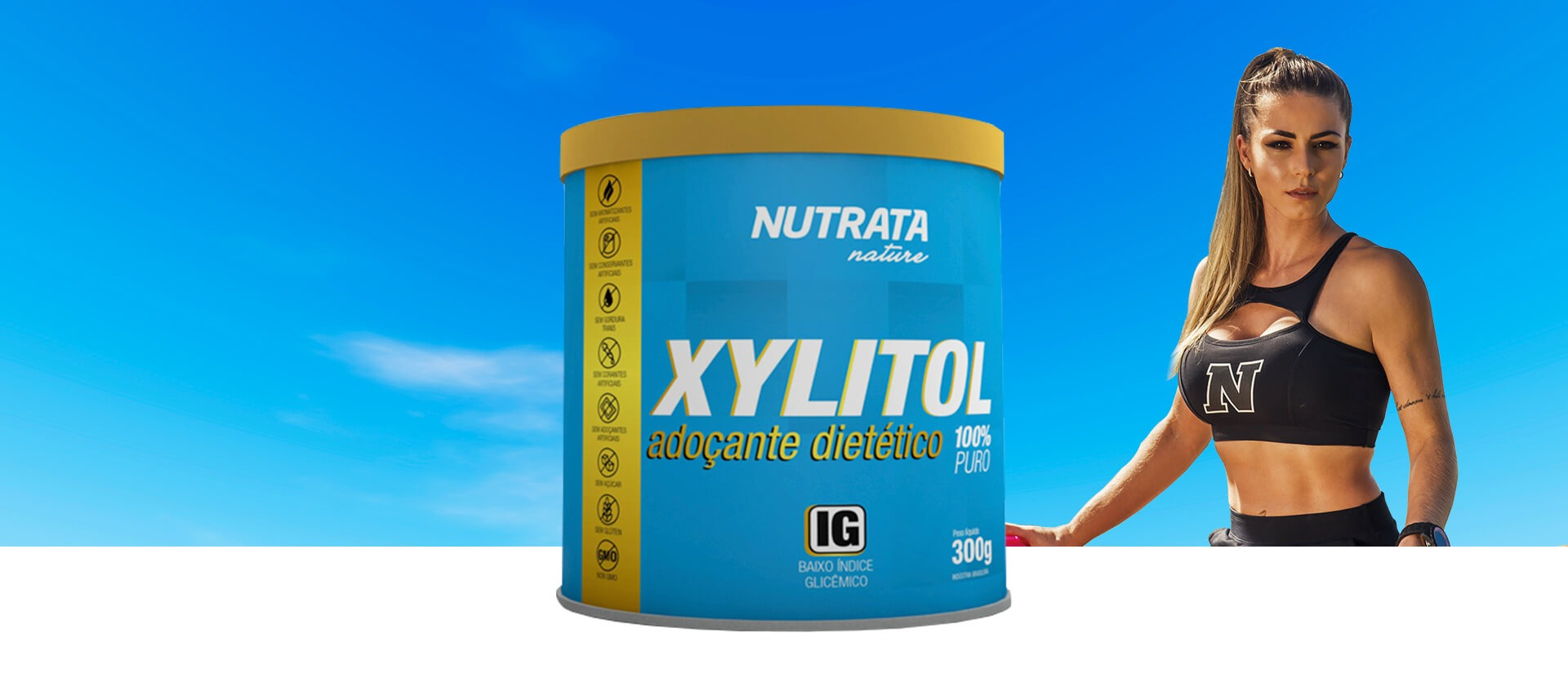 Banner XYLITOL | Nutrata