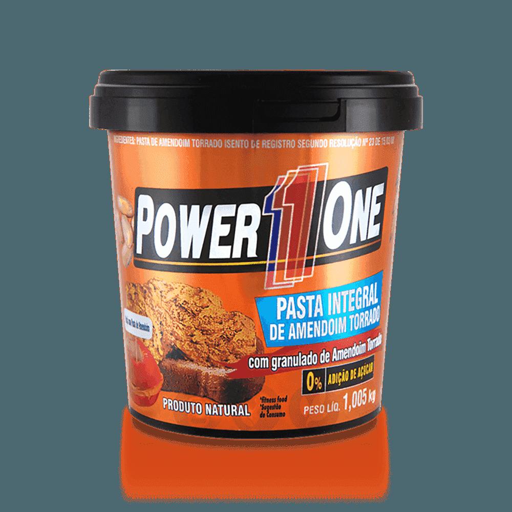 POWER ONE - PASTA AMENDOIM CROCANTE - 1,005KG - DMS ...