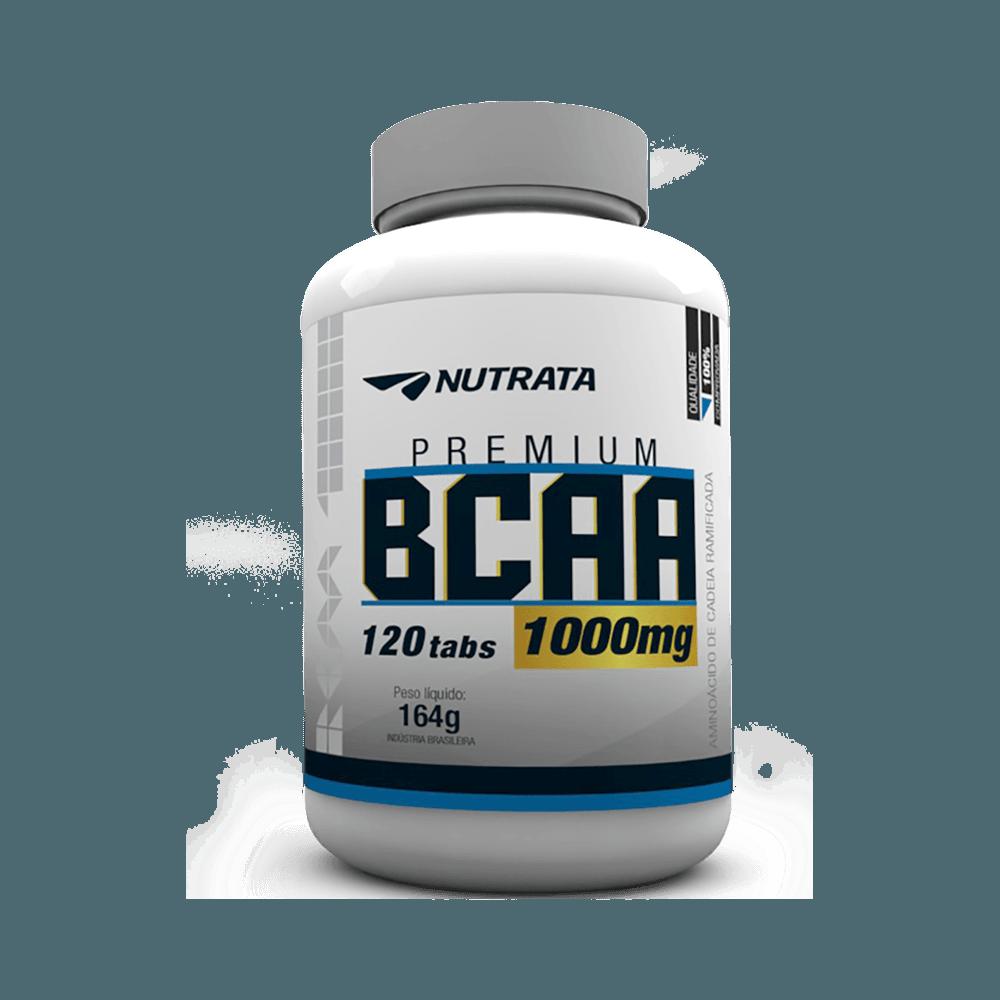 NUTRATA - BCAA 1,0 GR - 120 TABL - DMS Suplementos