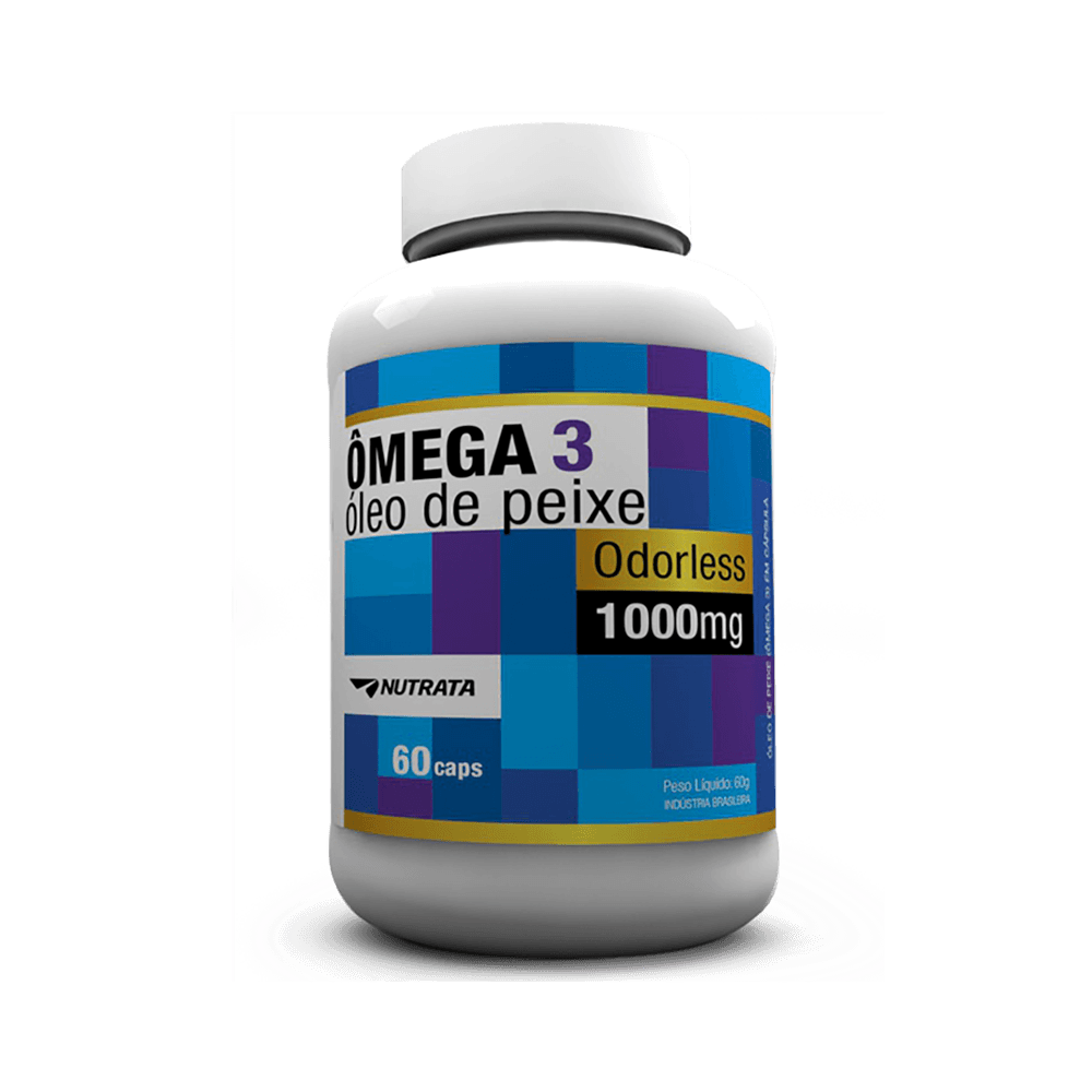 NUTRATA - ÔMEGA 3 - 1000 MG - 60 CAPS - DMS Suplementos