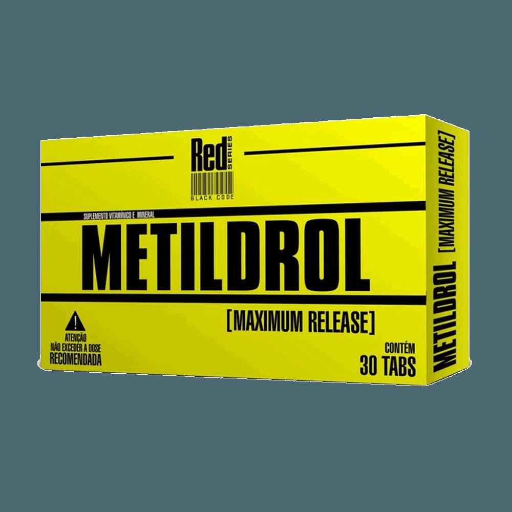 RED SERIES - METILDROL - 30 TABS - DMS Suplementos