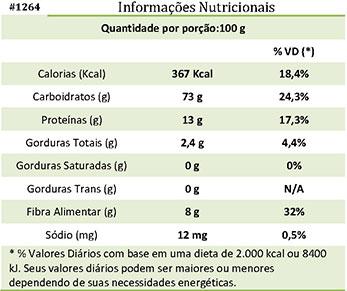 Tabela Nutricional #ZonaCerealistaOnline