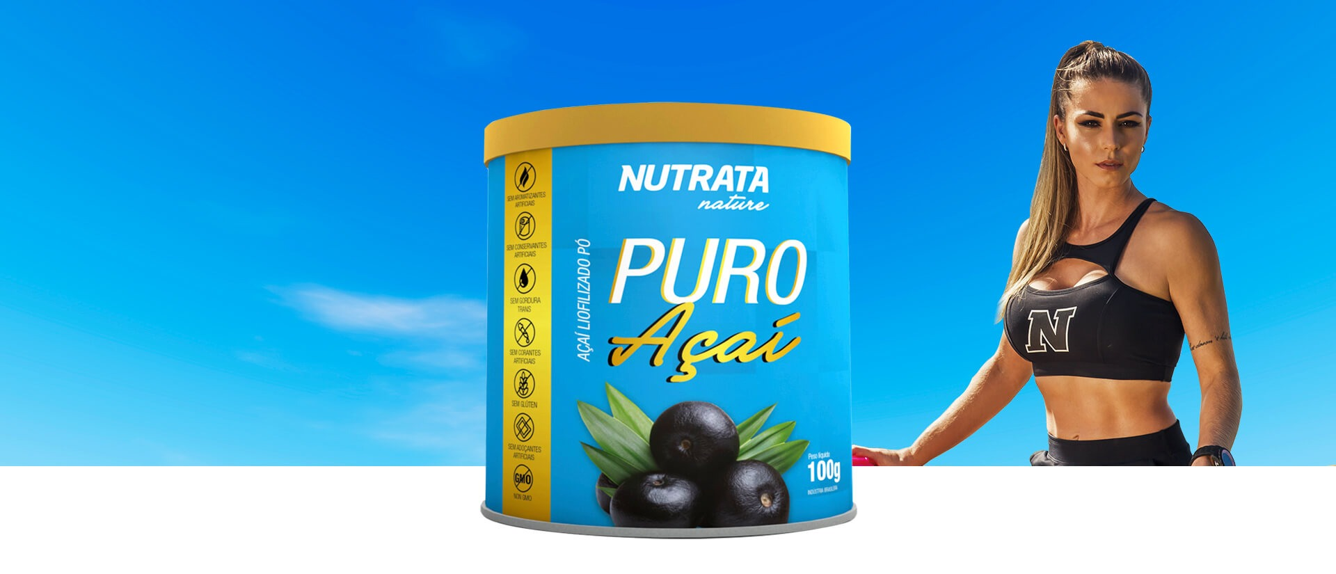 Banner Puro Açaí | Nutrata