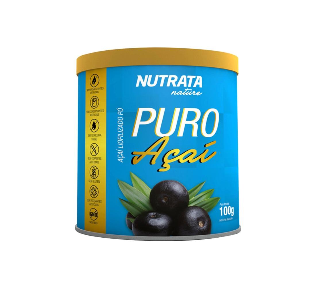 NUTRATA NATURE - PURO AÇAÍ - 100 GR - DMS Suplementos